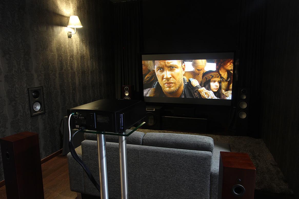 Nova Sala De Cinema Com Sistema 7 1 2 Dolby Atmos E Novo Ecr  -> Imagem De Sala De Cinema